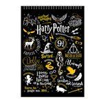 دفتر یادداشت 50 برگ طرح هری پاتر مدل Potter