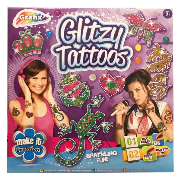 بازی آموزشی گرافیکس مدل Glitzy Tattoos