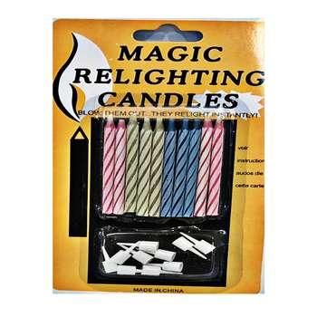 شمع تولد جادویی مدل پایه دار