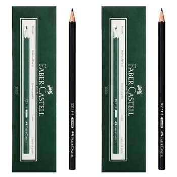 مداد مشکی فابر کاستل کد 111100 بسته 24 عددی