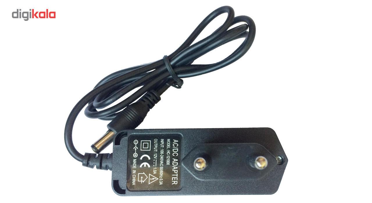 آداپتور 12 ولت 1 آمپر مدل HC-121000