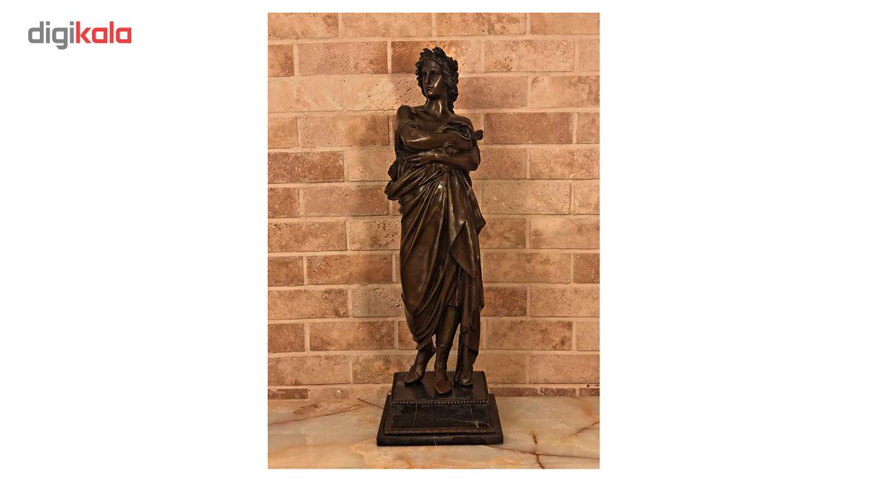مجسمه برنزی مرد رومی کد 0026