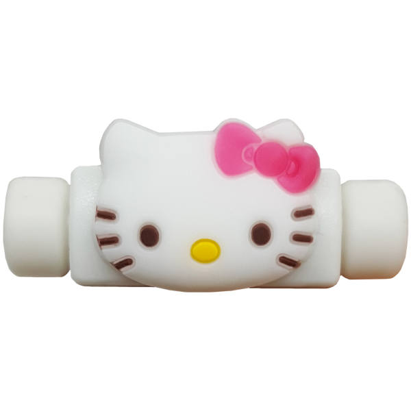 محافظ کابل شارژ مدل Hello Kitty A3