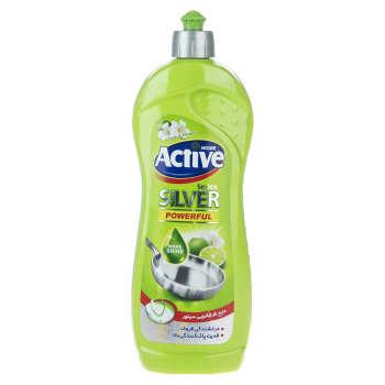 مایع ظرفشویی اکتیو مدل Lime and Flower مقدار 750 گرم