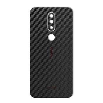 برچسب پوششی ماهوت مدل Carbon-fiber Texture مناسب برای گوشی موبایل Nokia 6.1 Plus-Nokia X6