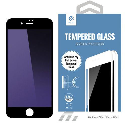 محافظ صفحه نمایش شیشه ای دیویا مدل Anti-Blue Ray مناسب برای گوشی موبایل اپل آیفون 8 پلاس / 7 پلاس