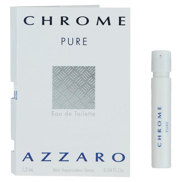 تستر ادوتویلت مردانه آزارو مدل Chrome Pure حجم 1.2 میلی لیتر