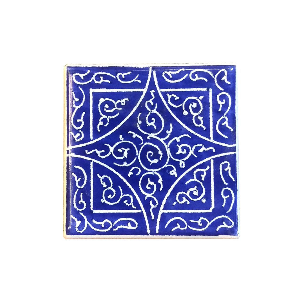 کاشی لعابدار لوح هنر کد 519