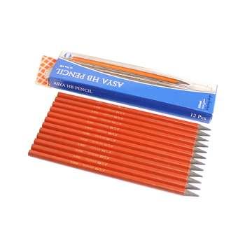 مداد مشکی آسیا مدل ISKF-0009 بسته 12عددی