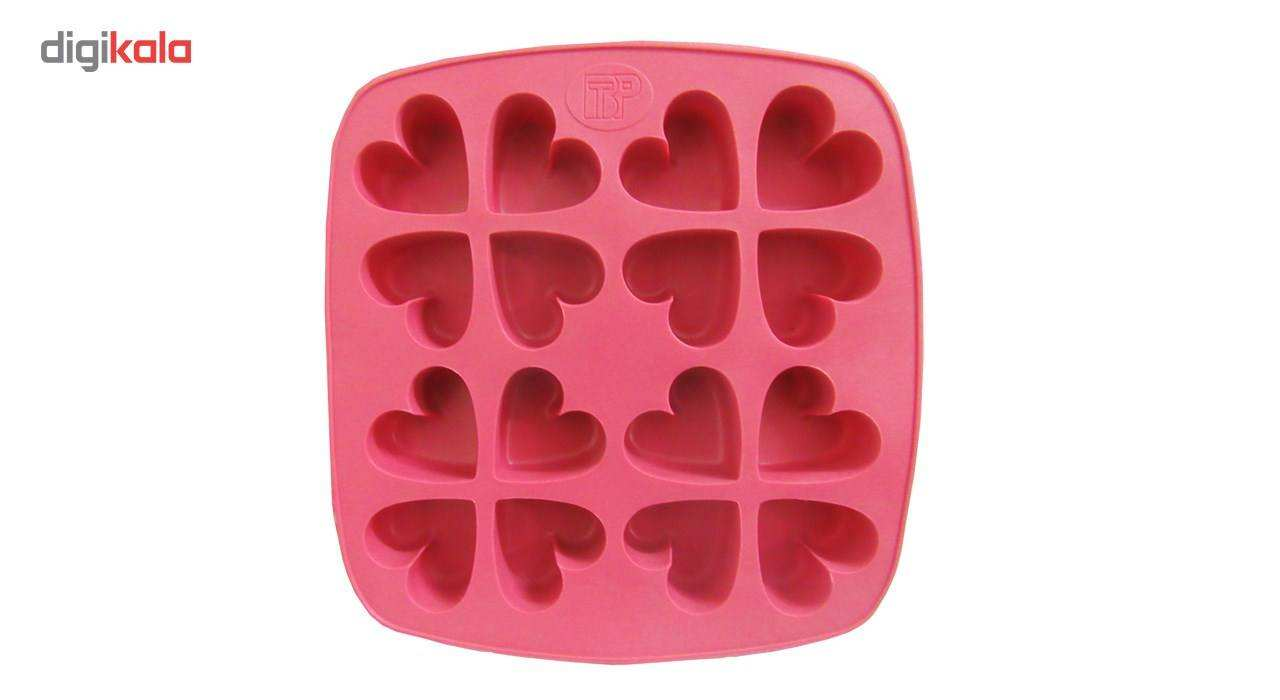 ظرف قالب یخ و کیک و ژله کد 0022 قلب main 1 1