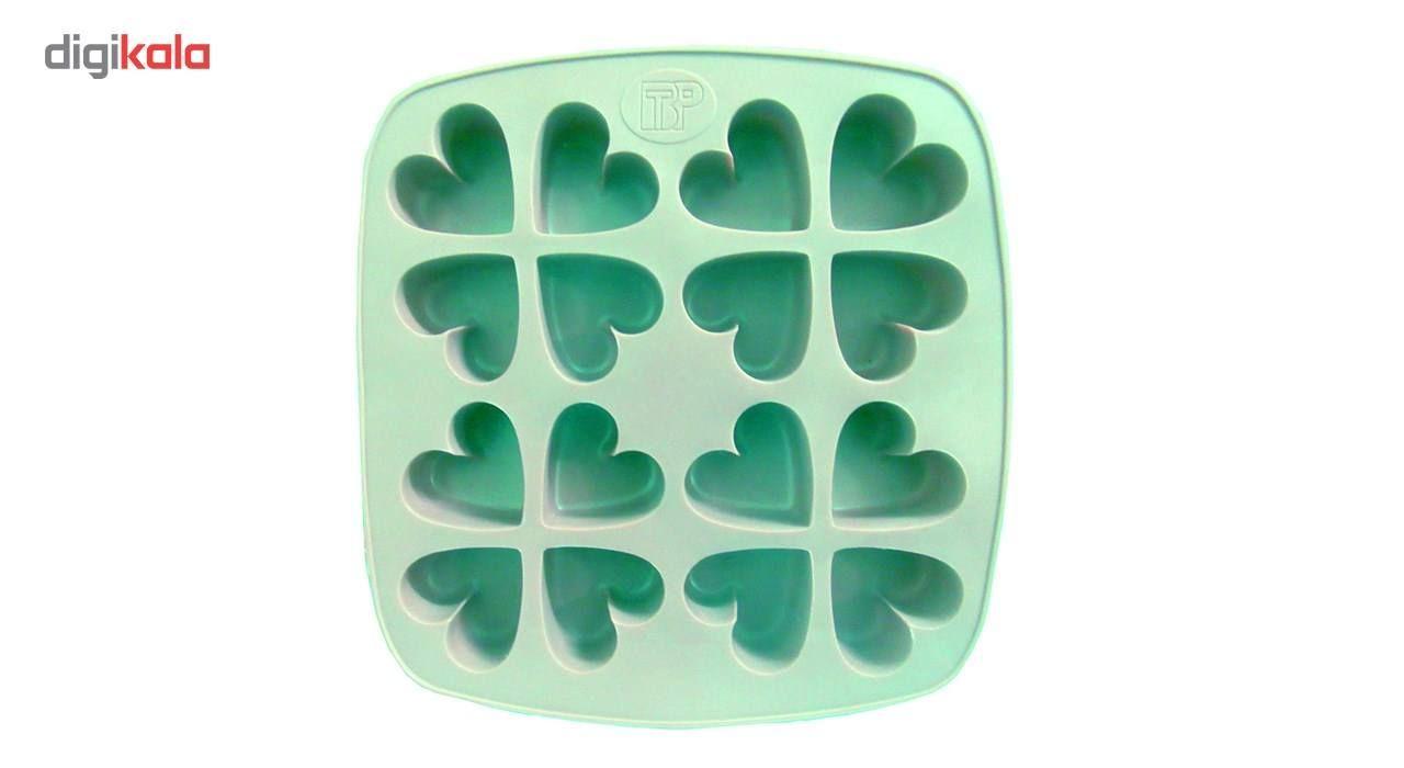 ظرف قالب یخ و کیک و ژله کد 0022 قلب main 1 2