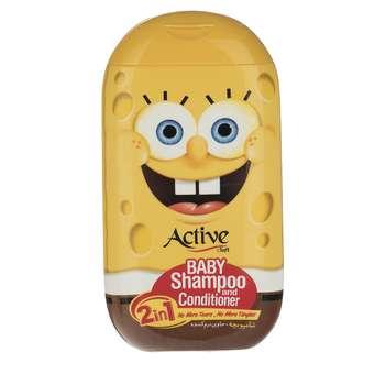 شامپو بچه اکتیو مدل Sponge Bob مقدار 280 گرم