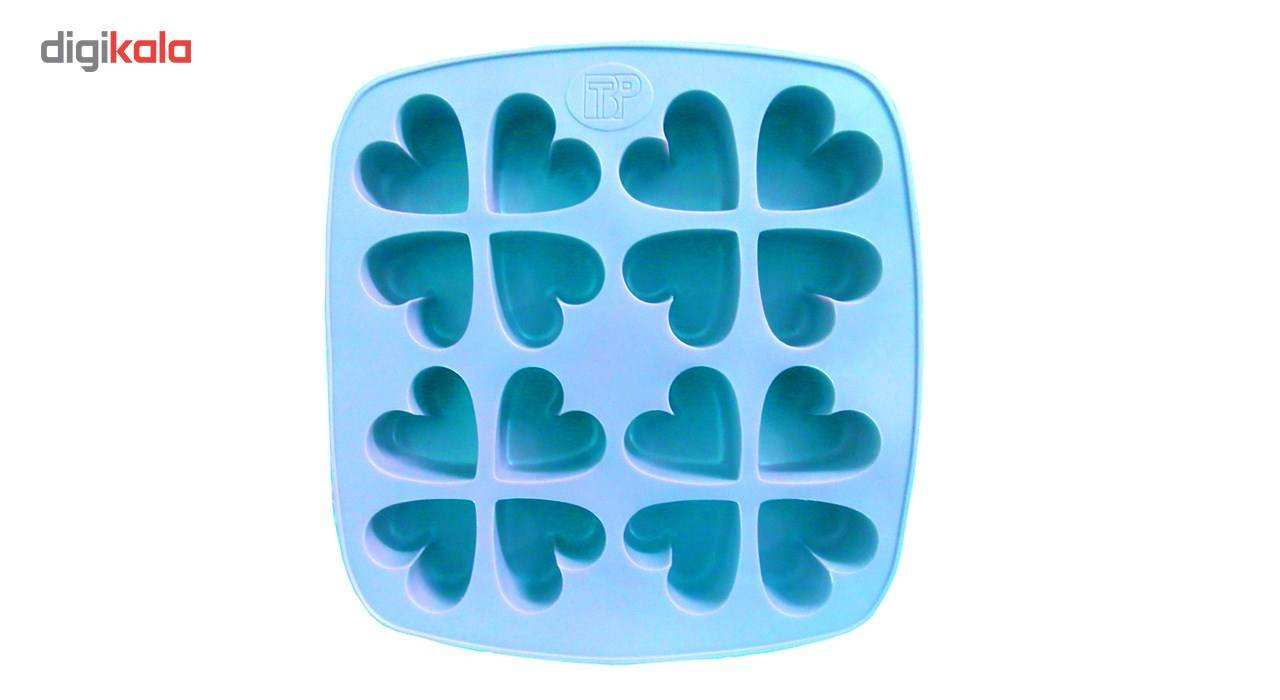 ظرف قالب یخ و کیک و ژله کد 0022 قلب main 1 3