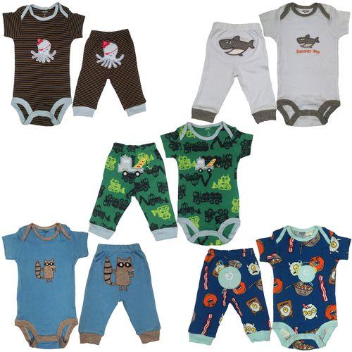 ست لباس نوزادی 10 تکه پسرانه کارترز مدل 10060-17