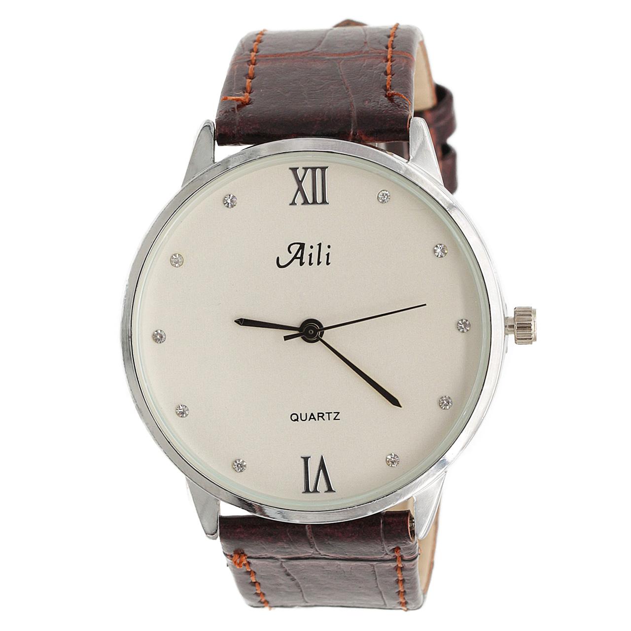 ساعت مچی عقربه ای زنانه آیلی مدل AL1634