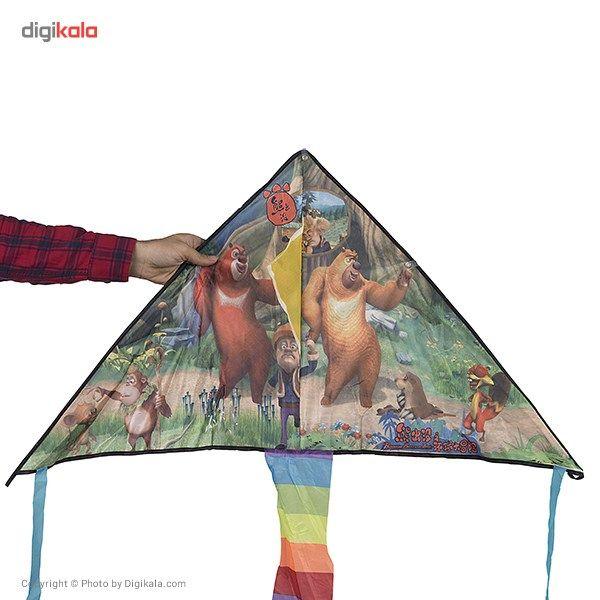 خرید اینترنتی با تخفیف ویژه بادبادک طرح Bears سایز 2