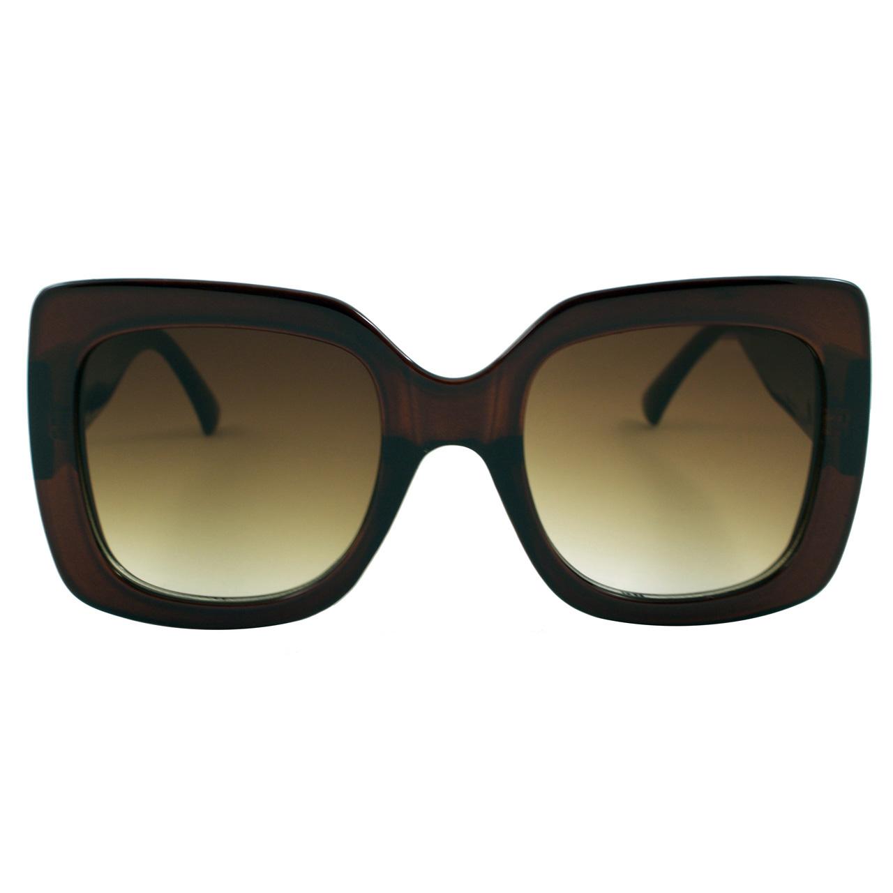 قیمت عینک آفتابی زنانه مدل Transparent Brown Bee Collection