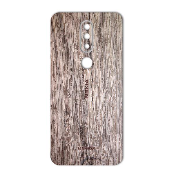 برچسب پوششی ماهوت مدل Walnut Texture مناسب برای گوشی  Nokia 6.1 Plus-Nokia X6