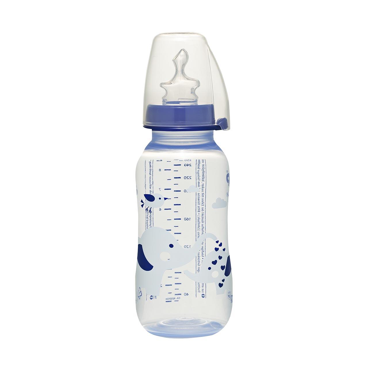 شیشه شیر نیپ مدل trendy ظرفیت 250 میلی لیتر