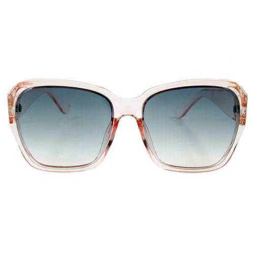 عینک آفتابی زنانه مدل Transparent Pink Cubic