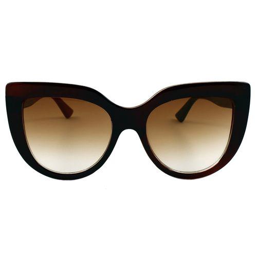 عینک آفتابی زنانه مدل Brown Diecut Big Cat
