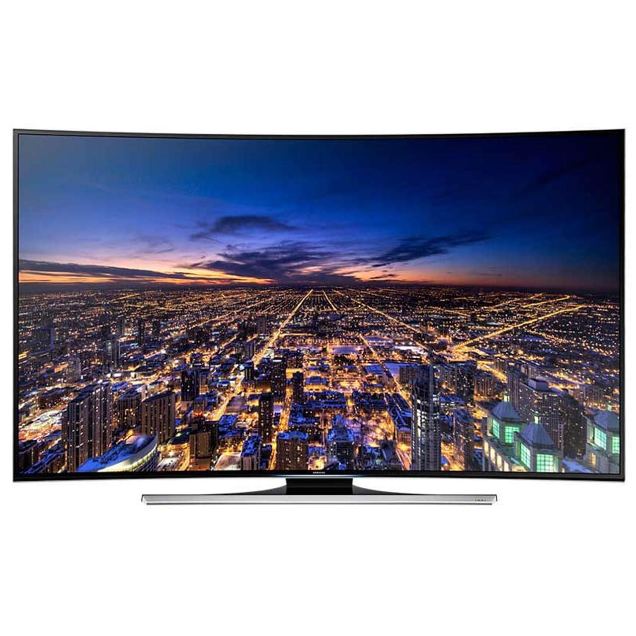 تلویزیون ال ای دی هوشمند خمیده سامسونگ مدل 55HUC8990 سایز 55 اینچ | Samsung 55HUC8990 Curved Smart LED TV 55 Inch