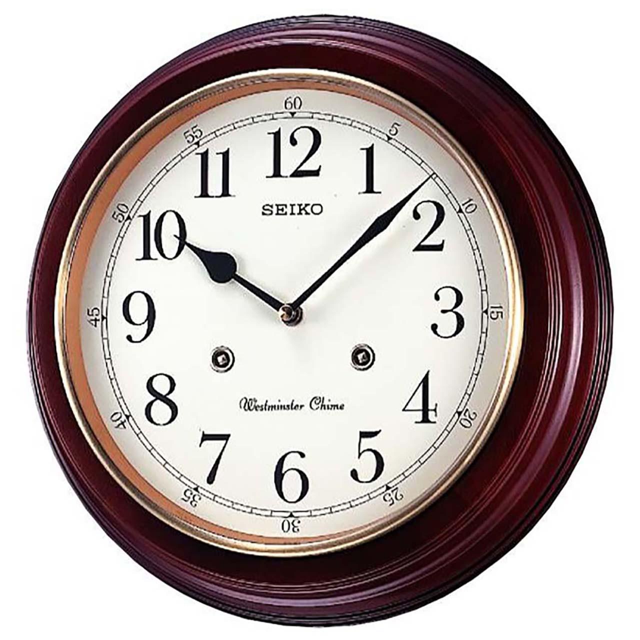 خرید ساعت دیواری سیکو مدل QXH202Z | ساعت مچی