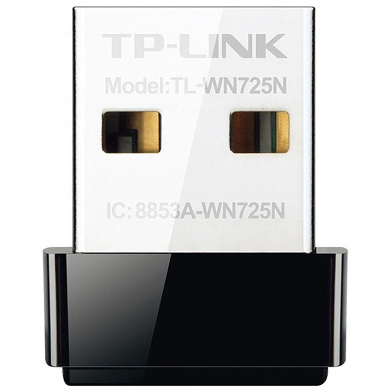 كارت شبكه USB بي سيم N150 Nano تي پي-لينك مدل TL-WN725N