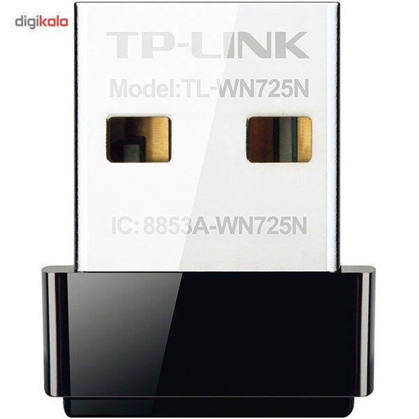 کارت شبکه USB بی سیم N150 Nano تی پی-لینک مدل TL-WN725N main 1 1