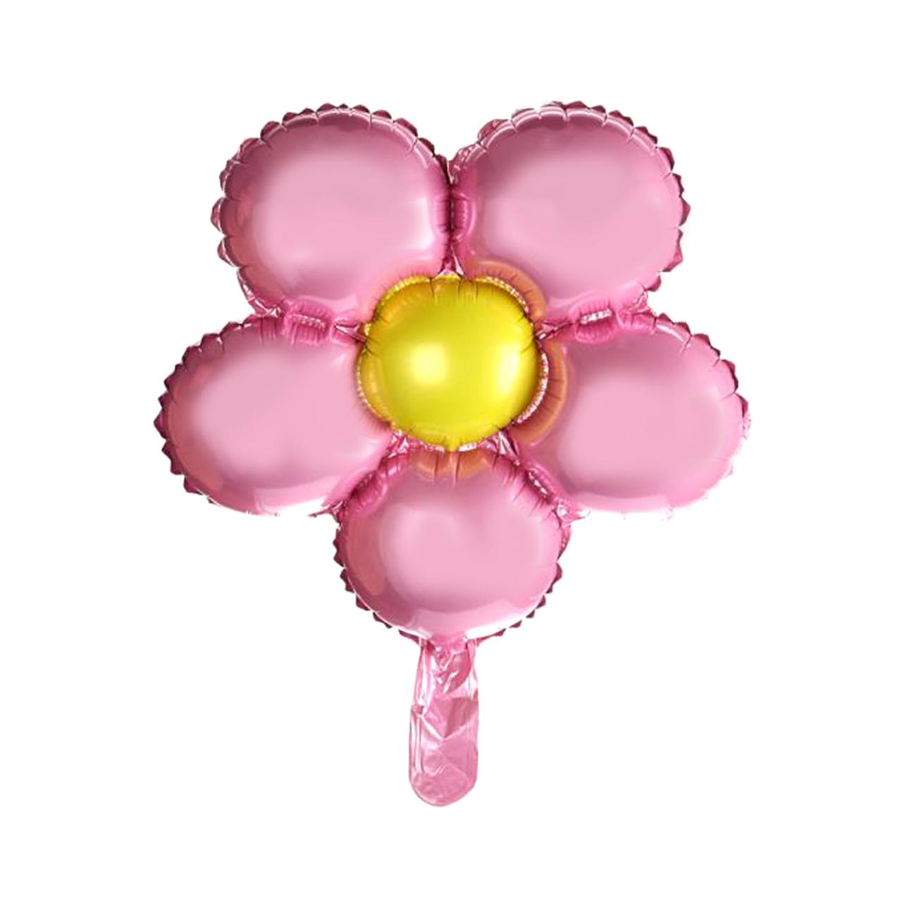 بادکنک فویلی مدل Pink Flower
