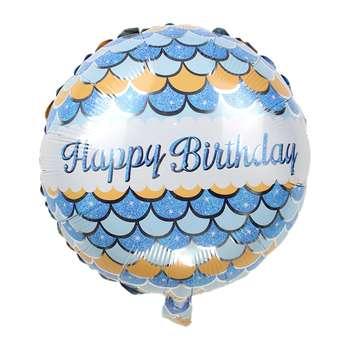 بادکنک فویلی مدل Happy Birthday Boy