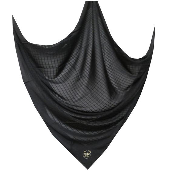 روسری توتو طرح چهارخانه