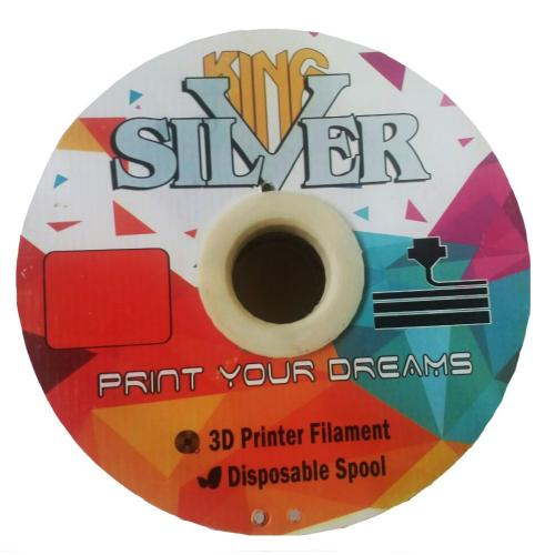 فیلامنت پرینتر سه بعدی ABS  قطر 1.75 میلی متر 1 کیلو مدل SilverKing
