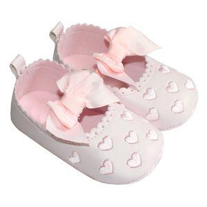 پاپوش نوزادی مدل Pink Heart