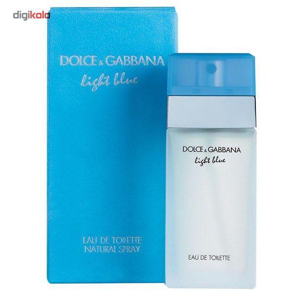 ادو تویلت زنانه دولچه اند گابانا مدل D and G Light Blue حجم 100 میلی لیتر main 1 1