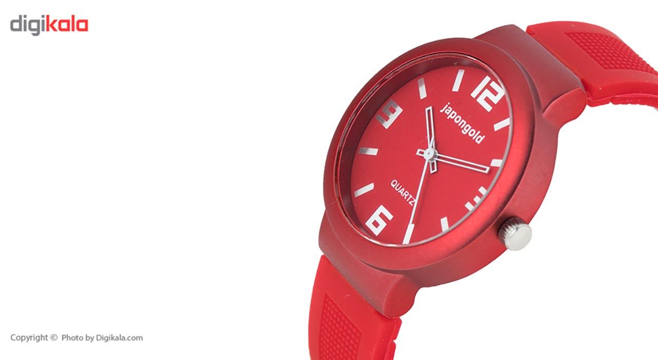 ساعت مچی عقربه ای ژاپن گلد مدل JP1805 D