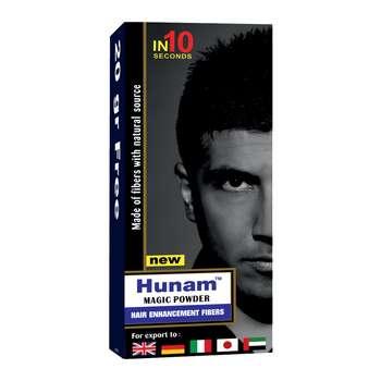 پودر پرپشت کننده مو هونام کد 70-01 مقدار 70 گرم