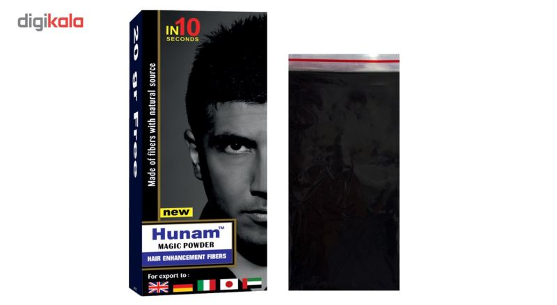 پودر پرپشت کننده مو هونام کد 70-02 مقدار 70 گرم