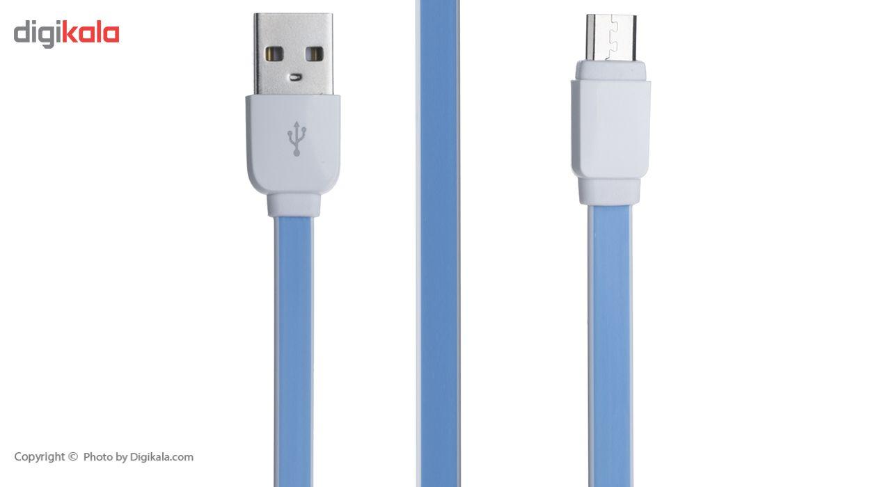 کابل تبدیل USB به microUSB الدینیو مدل XS-07 طول 1 متر main 1 1