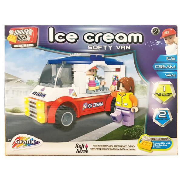 ساختنی گرافیکس مدل Ice Cream Softy Van