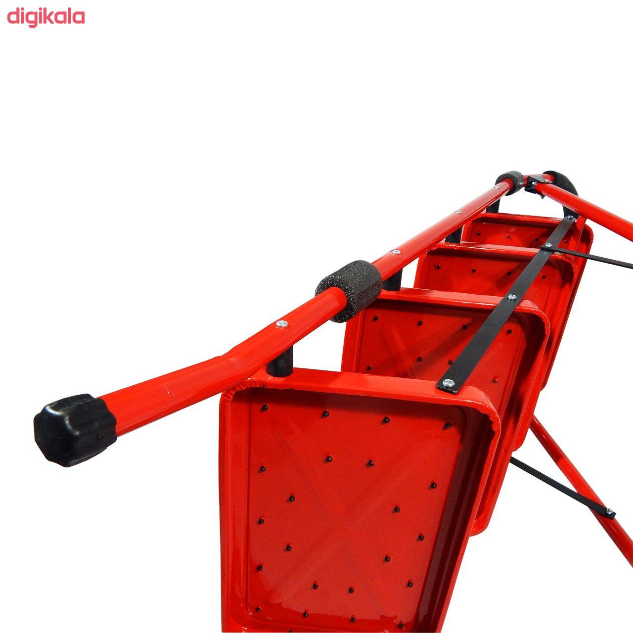نردبان 4 پله بلندا مدل B.O4s main 1 6