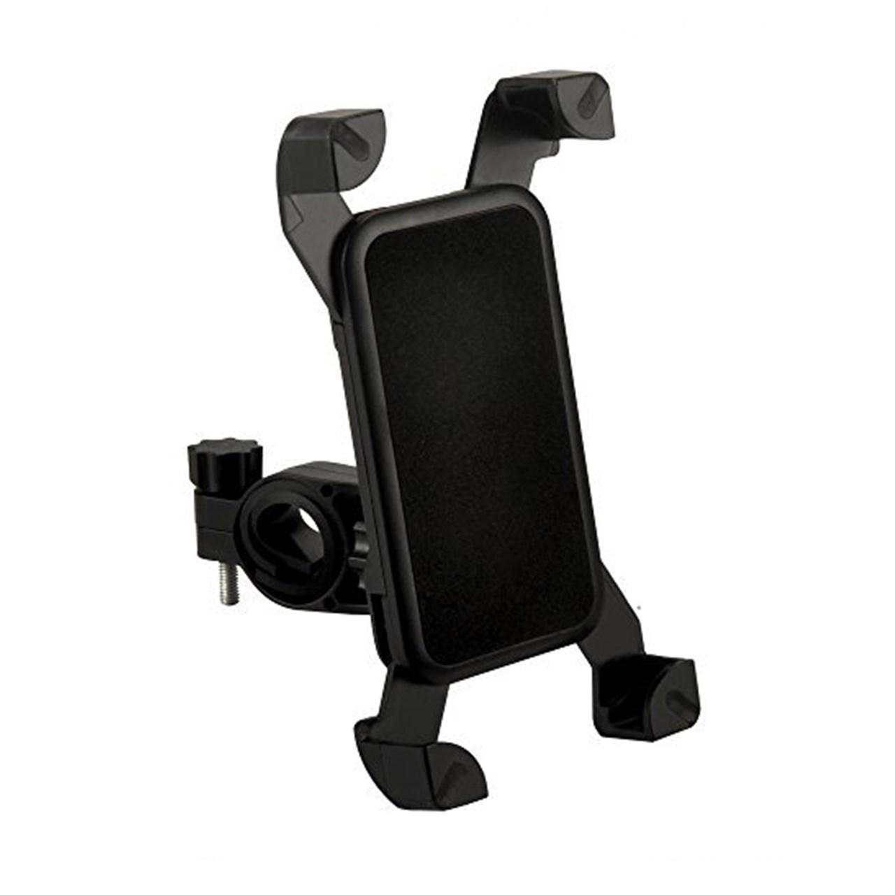 پایه نگهدارنده موبایل مناسب موتور و دوچرخه چهار گوشه مدل  Universal Bike Holder              ( قیمت و خرید)