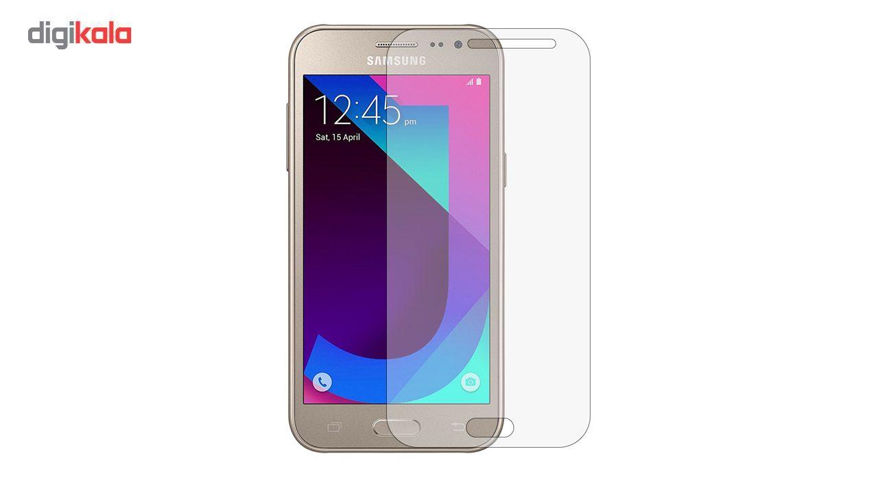 محافظ صفحه نمایش شیشه ای مدل Tempered مناسب برای گوشی موبایل سامسونگ Galaxy J2 2017 main 1 1