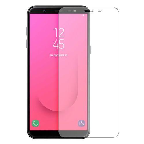 محافظ صفحه نمایش شیشه ای مدل Tempered مناسب برای گوشی موبایل سامسونگ Galaxy J8 2018