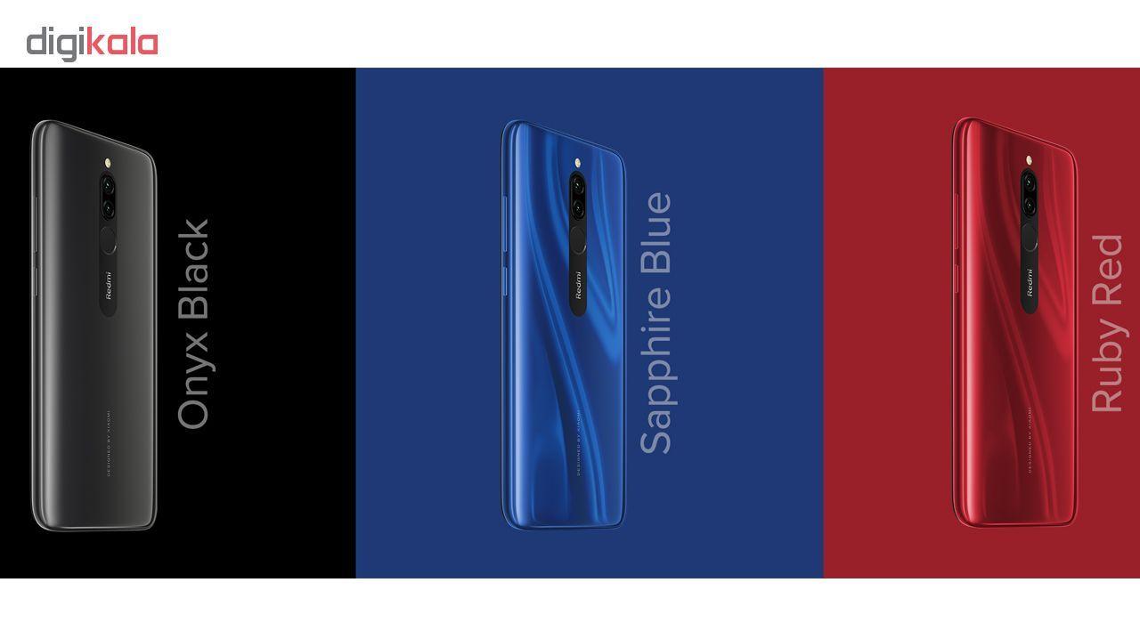 گوشی موبایل شیائومی مدل Redmi 8 M1908C3IG دو سیم کارت ظرفیت 32 گیگابایت - طرح قیمت شگفت انگیز main 1 11