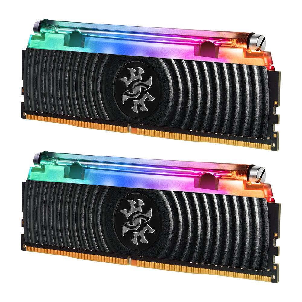 رم دسکتاپ DDR4 دو کاناله 3000 مگاهرتز CL16 ای دیتا ایکس پی جی مدل SPECTRIX D80 ظرفیت 16 گیگابایت