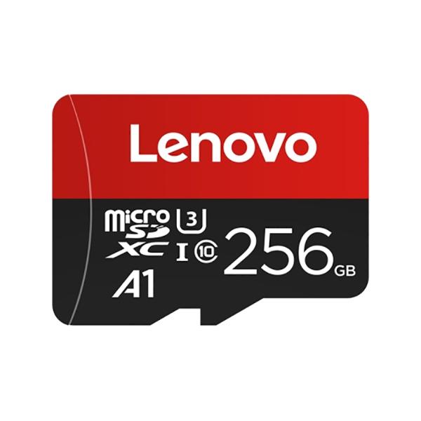 کارت حافظه microSDXC لنوو مدل A1 کلاس 10 استاندارد U3 سرعت 100MBps ظرفیت 256 گیگابایت