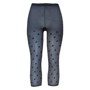 ساق شلواری زنانه نوردای مدل کاپری کد 711692 رنگ خاکستری