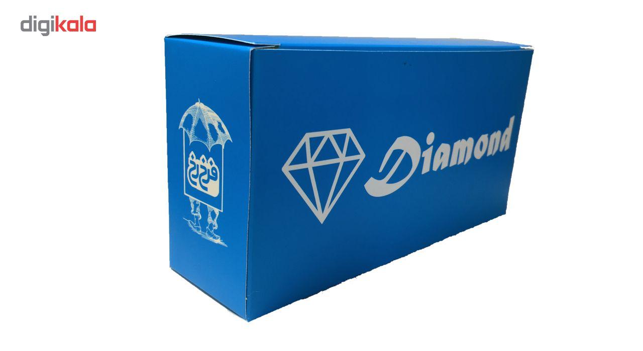 جوراب زنانه پارازین فرخ رخ سری الماس بسته 6 عددی main 1 5