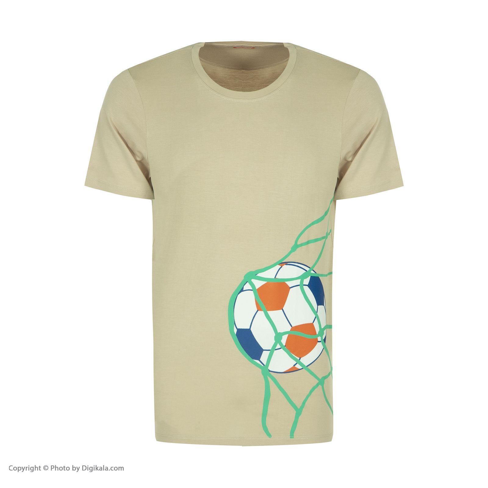 ست تی شرت و شلوارک راحتی مردانه مادر مدل 2041109-07 -  - 4